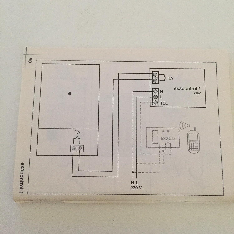 Termostato ExaControl 1 jornalero 230 V: Amazon.es: Bricolaje y herramientas