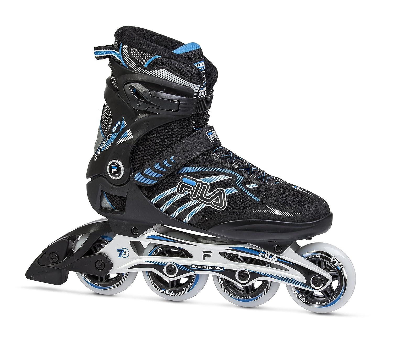 maat 40 brede selectie lage prijs verkoop Fila Reptix 84 Men's Inline Skates Black/Blue, 45, 010616240 ...