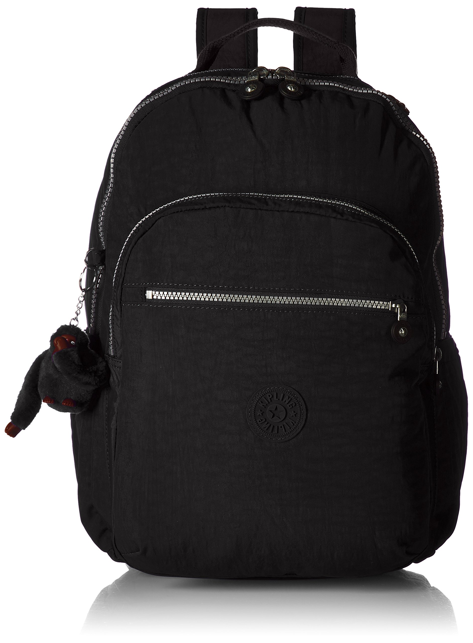Kipling Seoul Go Black Laptop Backpack by Kipling