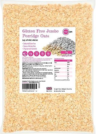 PINK SUN Avena Integral Sin Gluten Cereales 3kg Bolsa Grande ...