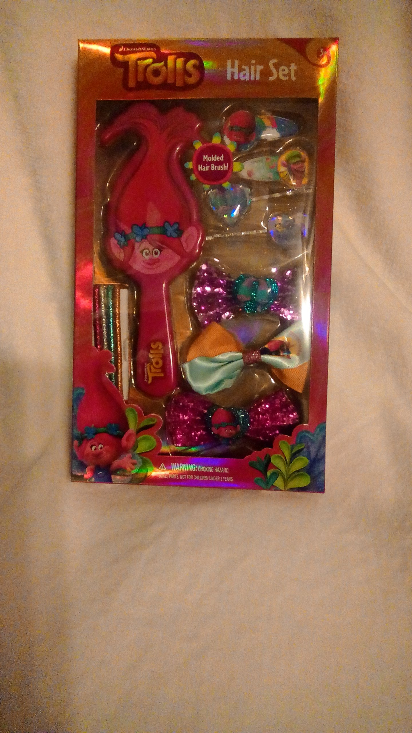 Trolls DreamWorks Hair Brush Set