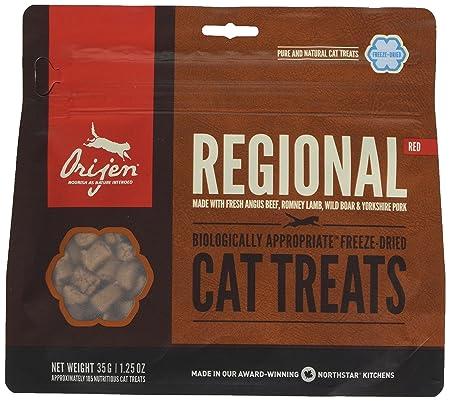 Origen - Orijen Regional Red Gato Treats - 545 - 35 Grs: Amazon.es: Productos para mascotas