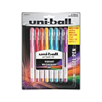 Deals on 8-Pack uni-ball 2004052 Gel Pens Ultra Micro Point (0.38mm)
