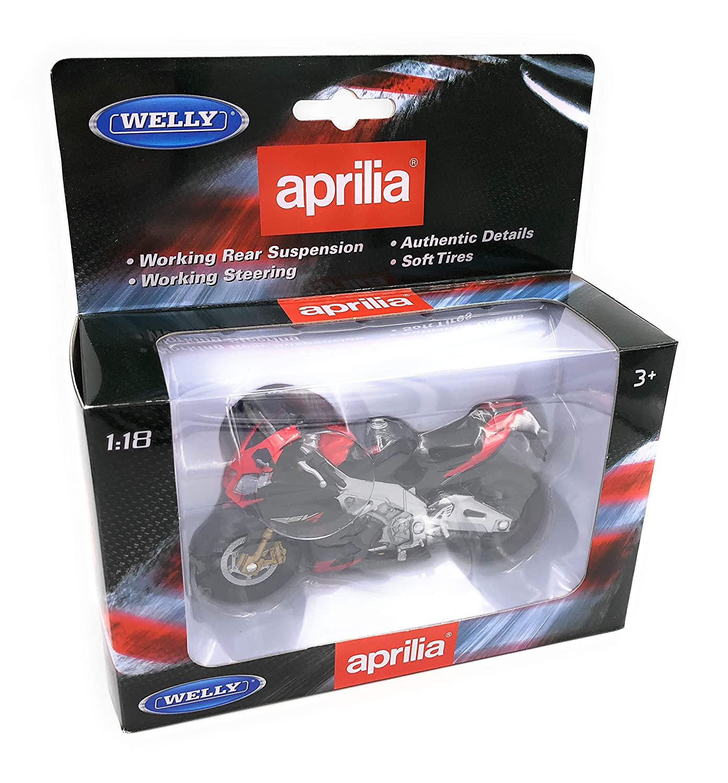 H-Customs Aprilia Rsv4 Motorcycle Bike Modelo Race Machine Licensee 1:18 OVP