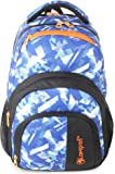 Lampart 28 Ltrs Royal Blue Casual Backpack (Lampart Iris Blue Texture)