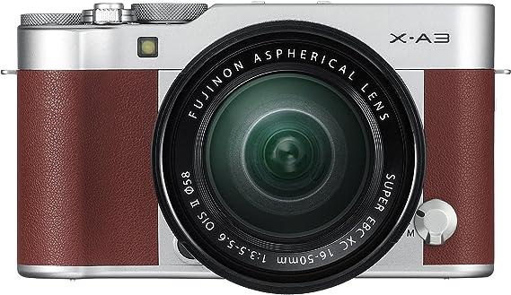 Fujifilm X-A3 BW - Cámara EVIL de 24 MP (pantalla táctil de 3