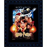 Harry Potter Sorcerer's Stone Digital Poster 36in Panel Multi Fabric By The Yard