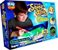 John Adams Sands Alive Glow in The Dark Create and Glow Set (Multi-Colour)