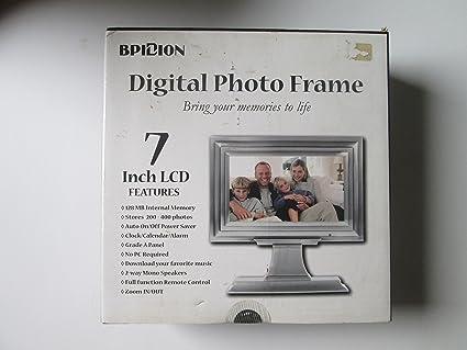 Amazon.com : ESA SDP704 7 Pedestal Digital Picture Frame : Camera ...