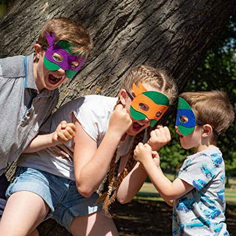 Amazon.com: Máscaras Ninja Turtle para niños – 12 ...