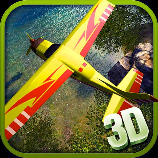 (RC Airplane Flight Simulator Arcade Adventure Simulator: Aeroplane Flying Sim Extreme Adventure Simulation Thrilling Game For Kids)