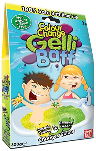 ZIMPLI KIDS LIMITED Gelli Baff Colour Change- Yellow-Green