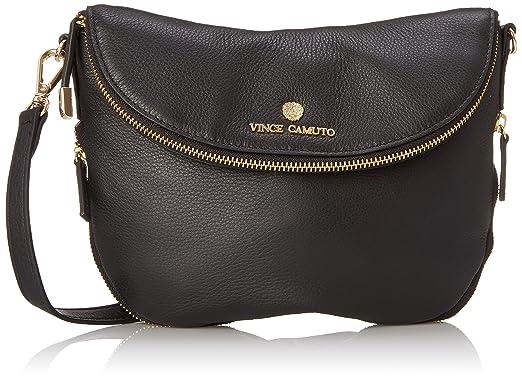 a0865584e Vince Camuto Rizo Crossbody, Black: Handbags: Amazon.com