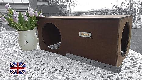Hop Inn - Escondite de conejo, túnel, casa para gato, escondite para interior