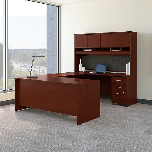 Bush Business Furniture Series C U Shaped Desk