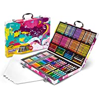 Crayola 239326 Inspiration Art Case - Pink, 140 Piece Art Set, Gifts for Kids and Adults