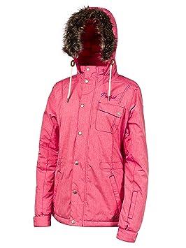 Protest Otham - Chaqueta de esquí para mujer, color rojo, talla XS