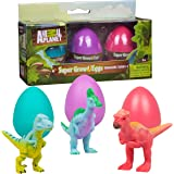 Animal Planet Dinosaur Easter Grow Eggs - 3 Educational Toys - Hatch and Grow Your Own Dino Pet (Series 4)