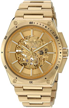 777317b75dcd Amazon.com  Michael Kors Men s Wilder Gold-Tone Watch MK9027  Watches