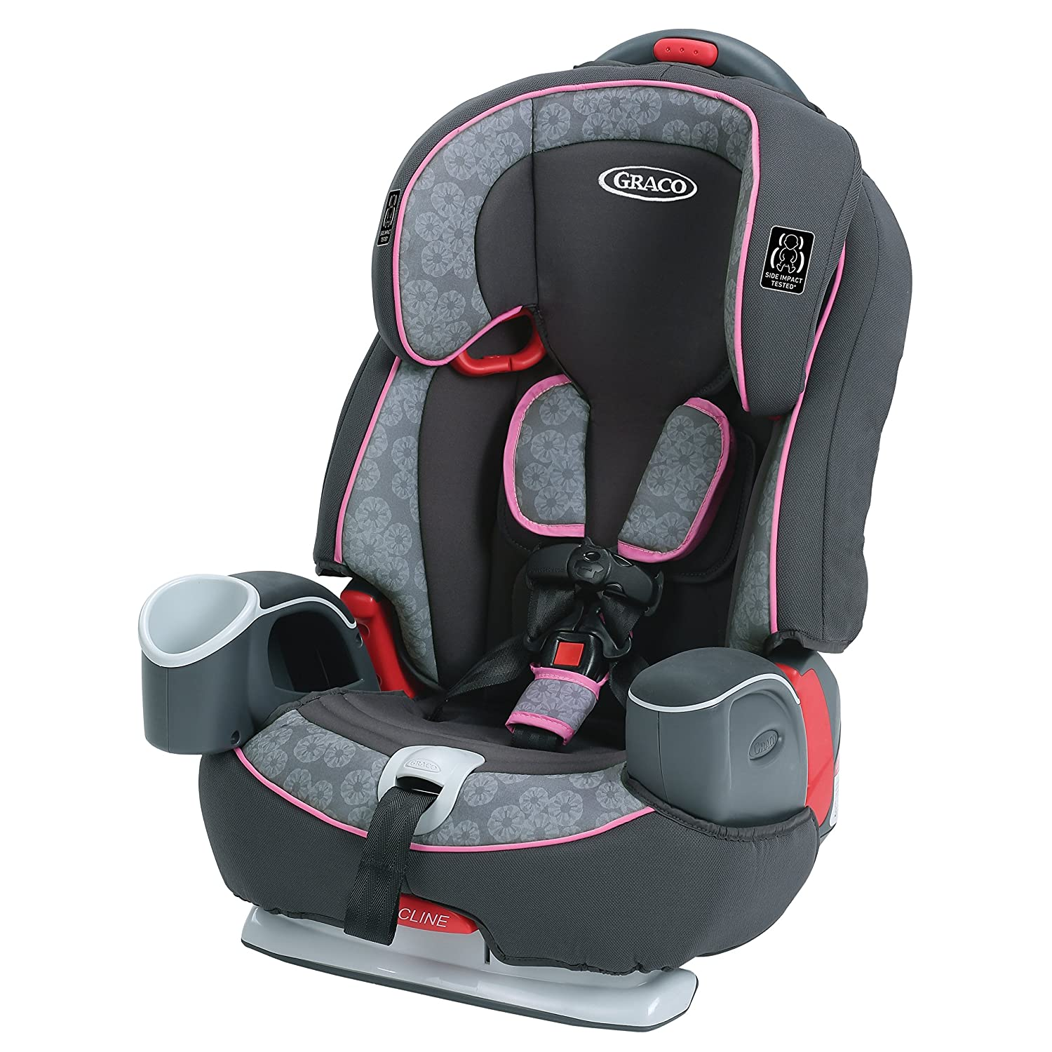 Amazon.com : Graco Nautilus 65 3-in-1 Harness Booster Car Seat, Sylvia, One  Size : Baby