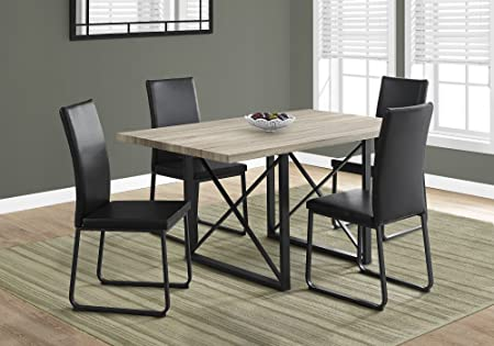 Monarch Dining Table 36quotX 60quot Black Metal