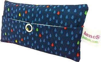 Taschentücher Tasche Regentropfen mini Raindrops Design Adventskalender Befüllung Wichtelgeschenk Mitbringsel Give away Mitarbeiter Weihnachten