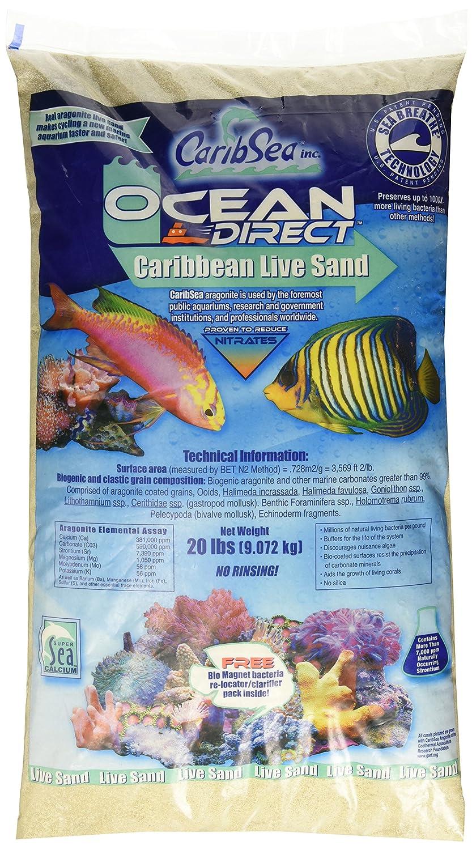 Caribsea Ocean Direct Natural Live Sand