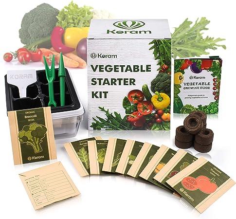 10 1020 Trays Seed Starter Germinate Tomato Vegetable Garden Flowers Herb