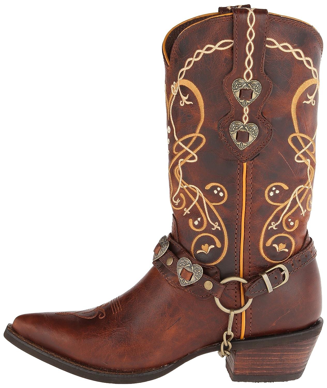 Durango Women's DCRD180 Western Boot B00RFZ6HUA 7 B(M) US Brown