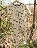 Leveret Organic Cotton Rocking Horse Footed Pajama