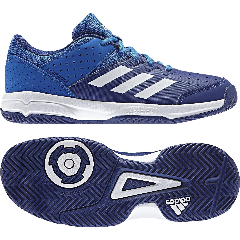 Adidas Court Stabil Jr, Zapatillas de Balonmano Unisex niños