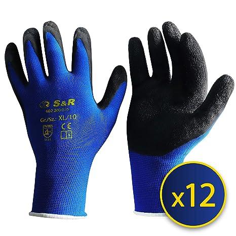 Business & Industrie 10 Paar Uvex Unipur 6639 Arbeitshandschuhe Mit Pu Beschichtung Handschuhe