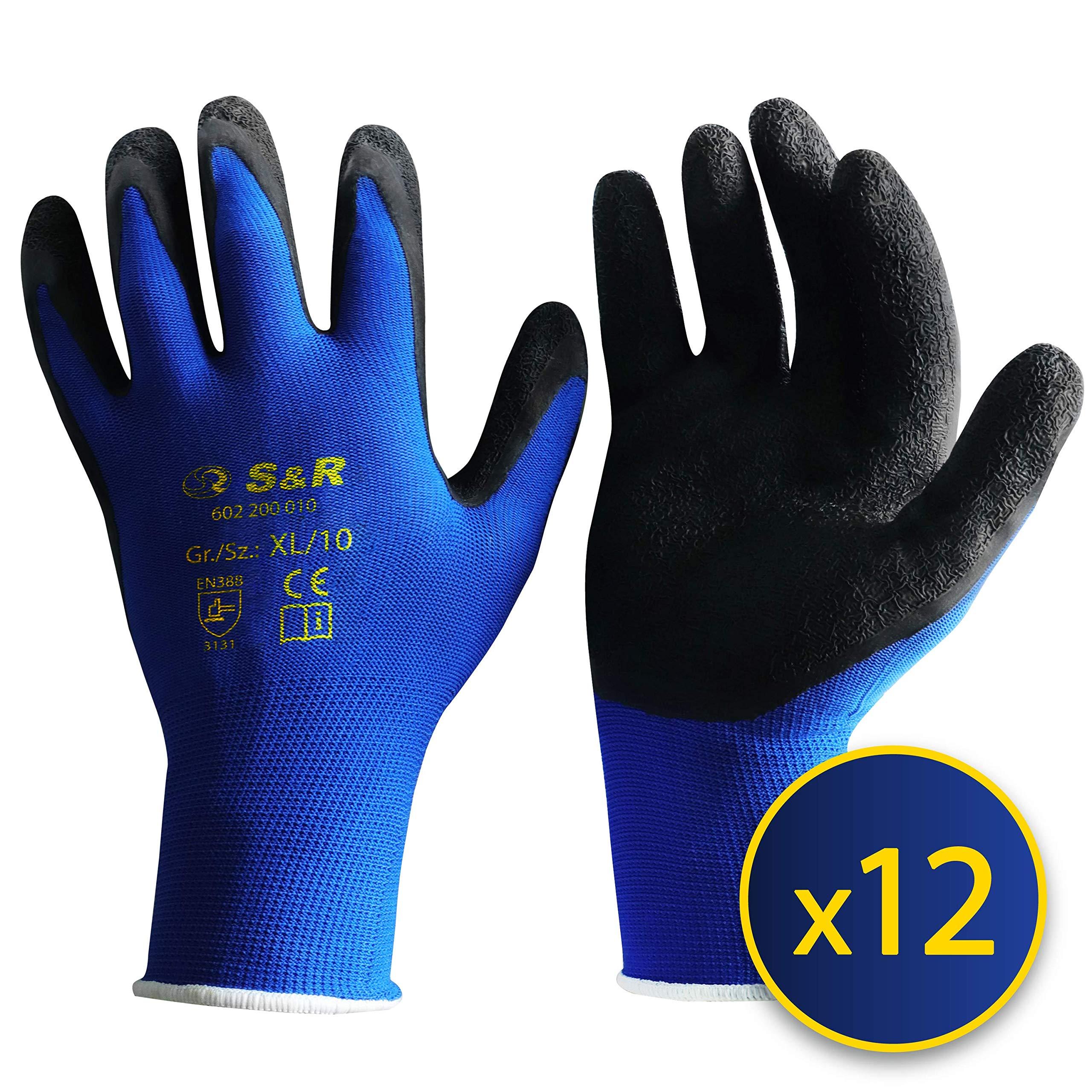 Bauhandschuhe Leder Arbeitshandschuhe Größe 10 Für Garten Wald Bau Hobby Handschuhe