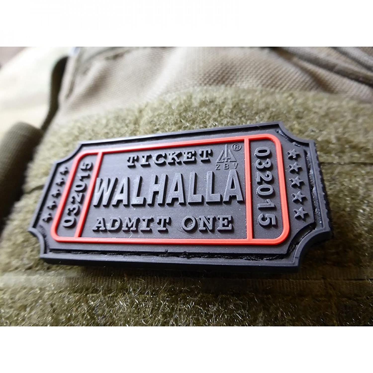 JTG Walhalla billet Patch, BLACKOPS