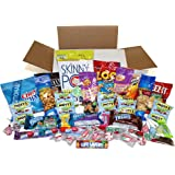 Snack-A-Matic Sweet & Savory Variety Pack - 40 Pieces with Cookies, Crackers, Candy Pretzels & More