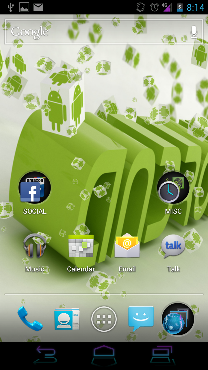 Live Wallpaper - Spinning Android Cubes: Amazon.es: Appstore para ...