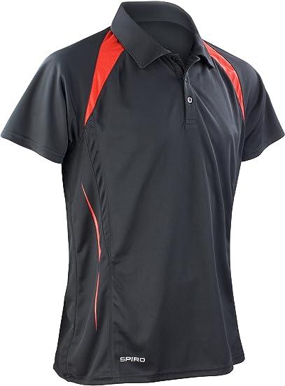 Champion Herren Poloshirt Kragen kurzarm Knopfleiste Freizeit Sport Hemd Shirt Fitness & Jogging