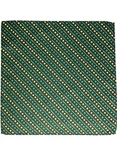 Patrick/'s Day Black /& Green Pocket Square Shamrock Handkerchief for St