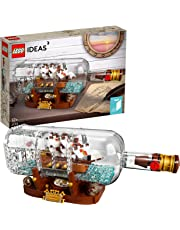 LEGO Ideas Ship in a Bottle 21313 Building Kit