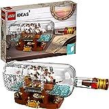 LEGO Ideas Ship in a Bottle 21313 Building Kit