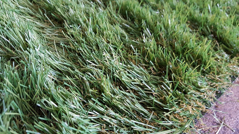 9/€//m/² Hochflor Vipe 450 x 200 cm Breite Rasen Teppich Kunstrasen