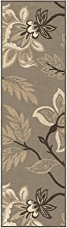 """product image for Orian Rugs Nuance Lily Runner Rug, 2'3"""" x 8' , Taupe"""