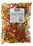 Haribo Original Gold-Bears Gummi Candy, 5-Pound Bag of Delicious Bears!  Ships to You  in Either Clear Packaging or the New Gold Updated Packaging.  The Same Delicious Gummi Bears in Either Packaging!