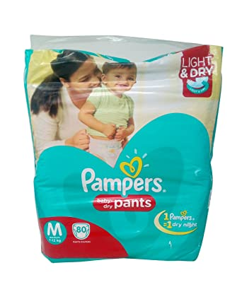 Buy pampers diaper pants medium 80 pieces pack online at low pampers diaper pants medium 80 pieces pack fandeluxe Image collections