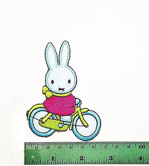 Parche de dibujos animados para niños con diseño de conejo, para ...