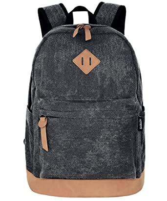 a grey backpack