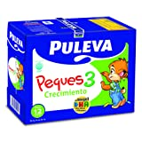 Puleva Leche Infantil Peques 3 Crecimiento con Omega3 - Pack 6 x 1 L - Total: 6 L