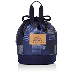 Cinch Bag: Indigo Patchwork