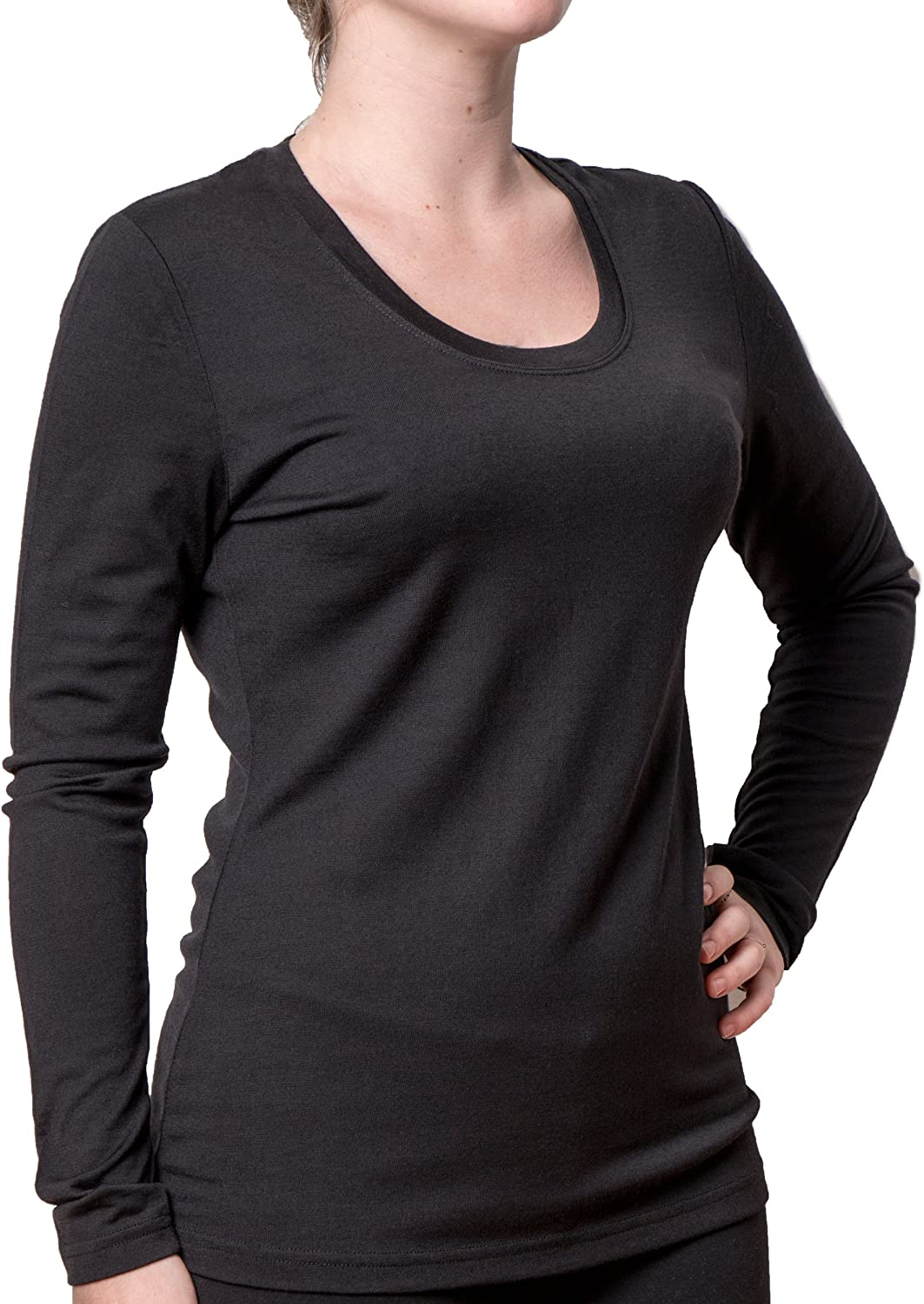 Cold Snap Women's Merino, Long Sleeve Baselayer, Midweight, 210 GSM, 100% Merino Wool - Select Your Size