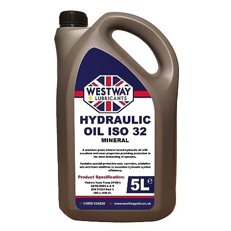 Hydraulic Oil ISO 32 5 Litres 5L: Amazon co uk: Car & Motorbike